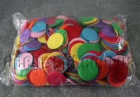 Фетровые заготовки-круги цветные 3,5 см 1000 шт