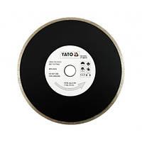 Диск отрезной алмазный для мокрой резки YATO YT-6015 230 x 2.7 x 5.3 x 22.2 мм