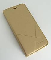 Чехол-книжка для смартфона Huawei P10 (VTR-L29) золотая MKA