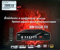Тюнер DVB-T2 2558 з підтримкою Wi-Fi адаптера