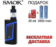 Электронная сигарета SMOK Alien Kit 220W. Вейп SMOK Alien Kit 220W.Бокс мод Элиан Кит 220 Вт синего цвета.