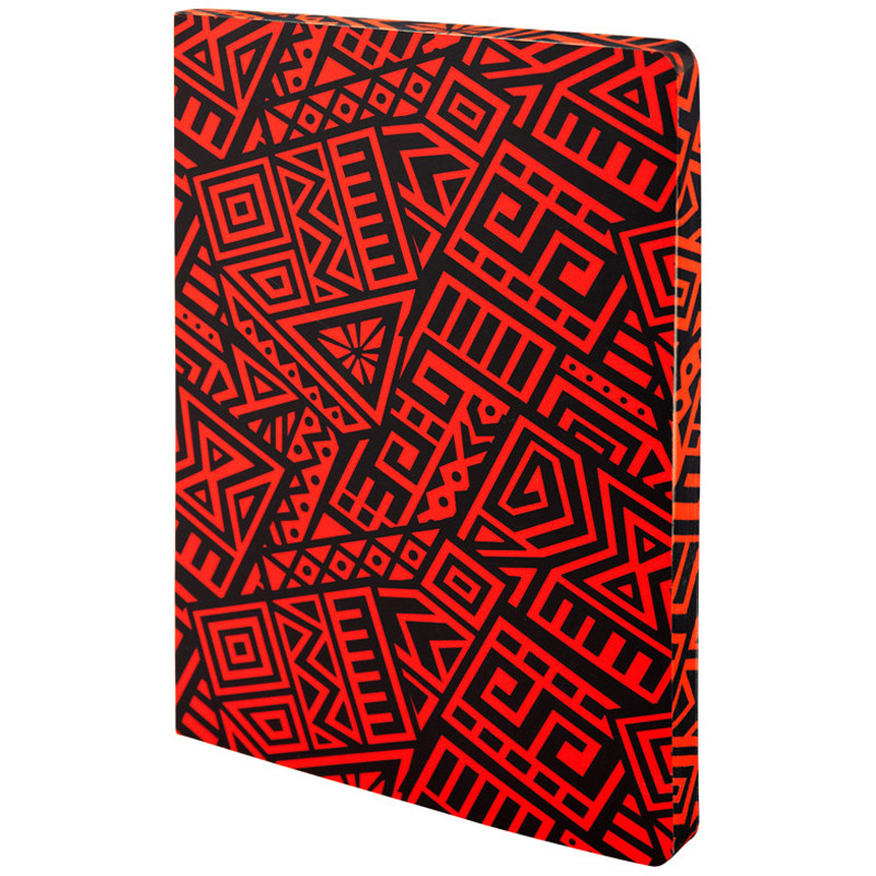Блокнот двусторонний Axent The Runes A5 128 листов (64 в точку и 64 без линовки) красный