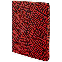 Блокнот двусторонний Axent The Runes A5 128 листов (64 в точку и 64 без линовки) красный, фото 1