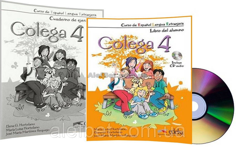Испанский язык / Colega/ Libro+de ejercicios+CD. Учебник+Тетрадь (комплект), 4/ Edelsa