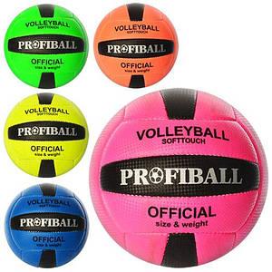 Волейбольний м'яч PROFI 1107ABCDE 260-280г