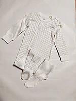 Человечек, слип для ребенка в горошек р.86/92 Lupilu (Германия)