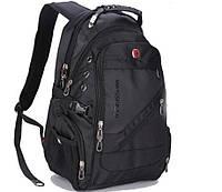 Рюкзак SwissGear 8810 с отделением для ноутбука 35 л Черный