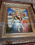 """Ікона писана Божої Матері """"Достойно Є"""" («Милуюча») в кіоті, фото 2"""