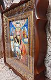 """Ікона писана Божої Матері """"Достойно Є"""" («Милуюча») в кіоті, фото 3"""