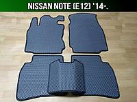 ЕВА коврики на Nissan Note (E12) '14-. Ковры EVA Ниссан Ноте Ноут, фото 1