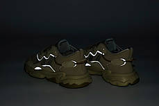 Мужские кроссовки Adidas Ozweego. Рефлектив. Beige бежевый.. ТОП Реплика ААА класса., фото 3