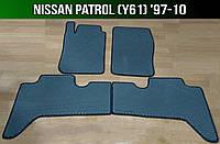 ЕВА коврики на Nissan Patrol (Y61) '97-10. Ковры EVA Ниссан Патрол Партуль, фото 1