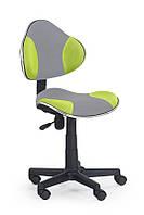 Кресло компьютерное FLASH 2 серый/зеленый (Halmar)