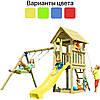 Детская игровая площадка KBT Blue Rabbit KIOSK + качели SWING для детей