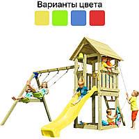 Детская игровая площадка KBT Blue Rabbit KIOSK + качели SWING для детей, фото 1