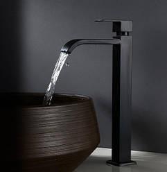 Смеситель для ванной Sonic RD-10 матовый на столешницу на один тип воды