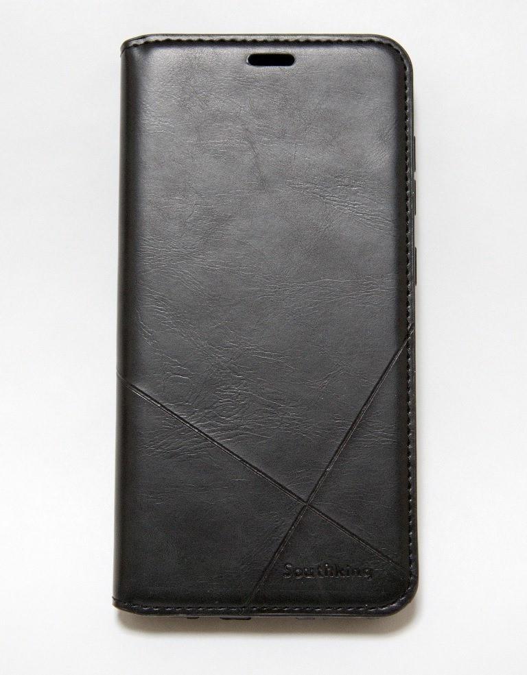 Чехол-книжка для смартфона Samsung Galaxy A6 2018 A600 чёрная MKA