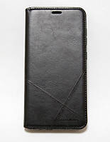 Чехол-книжка для смартфона Samsung Galaxy A6 2018 A600 чёрная MKA, фото 1