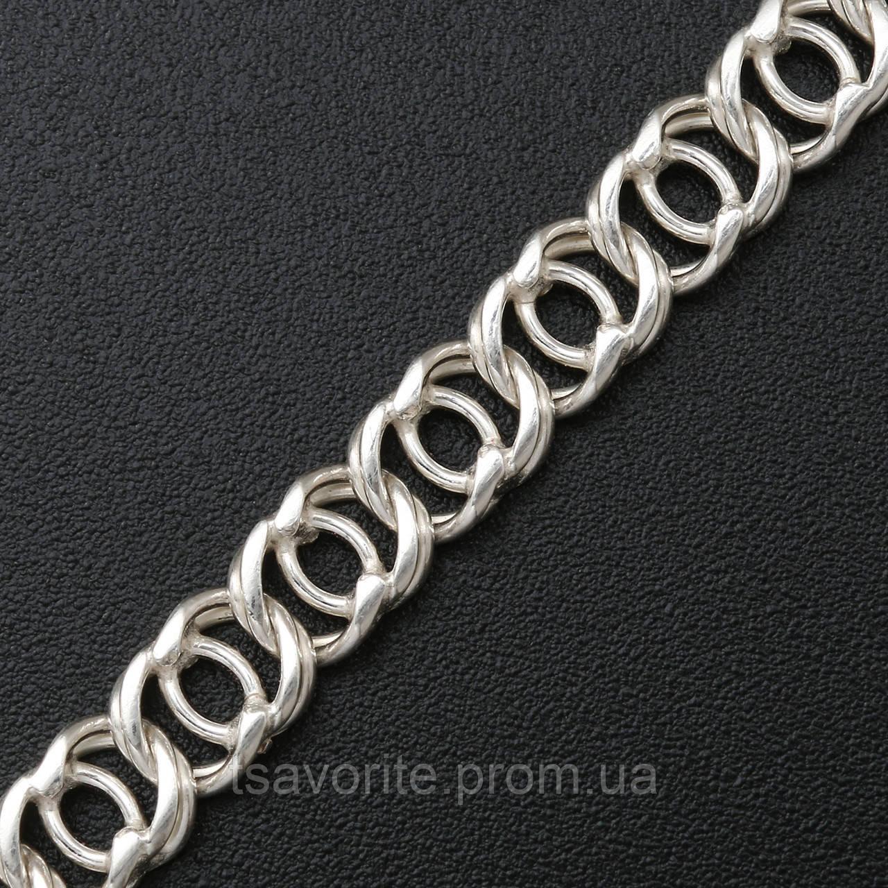 Серебряная цепочка ЕХ-37