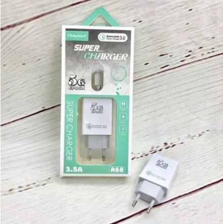Зарядное устройство A68 Qualcomm QC3.0