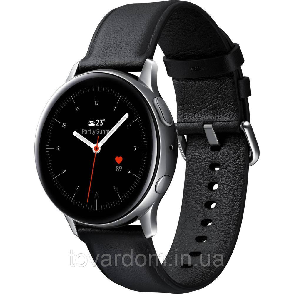Смарт часы Samsung Galaxy Watch Active 2 44mm Silver Stainless steel