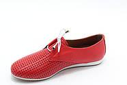 Красные мокасины Aras Shoes K-19-kirmizi, фото 3