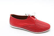 Красные мокасины Aras Shoes K-19-kirmizi, фото 2