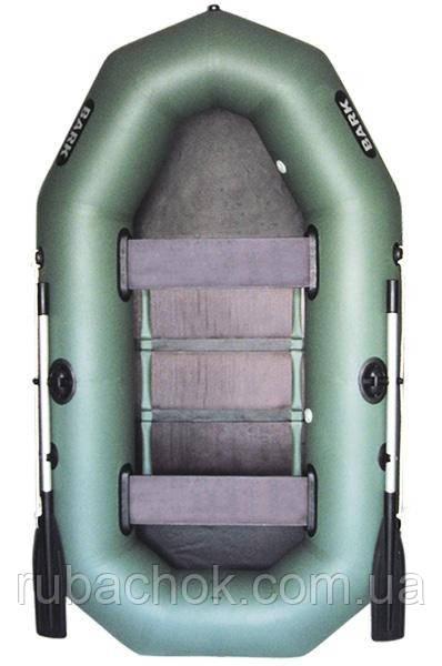 Двухместная гребная надувная лодка Bark (Барк) B-240D