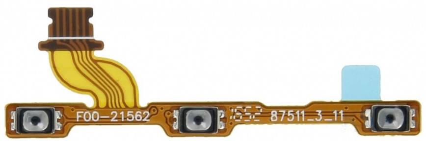 Шлейф Huawei Honor 6C (DIG-L01, DIG-L21HN), Nova Smart, Enjoy 6s с кнопкой включения, кнопками регулировки громкости, фото 2