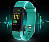 Фитнес-трекер  SSE 115 Plus браслет зеленый, фото 7
