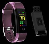 Фитнес-трекер  SSE 115 Plus браслет фиолетовый, фото 3