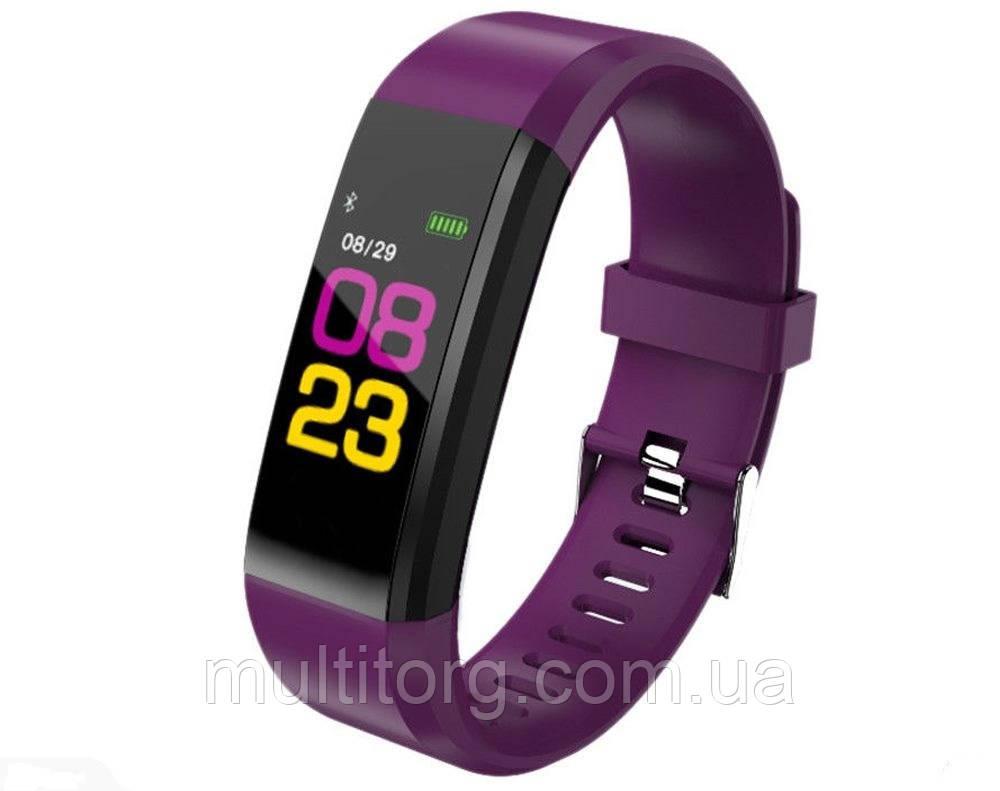 Фитнес-трекер  SSE 115 Plus браслет фиолетовый