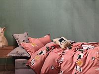 Детский полуторный комплект постельного белья (150 х 200) см Зверушки