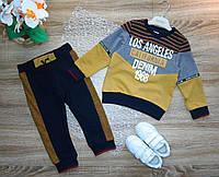 Детский спортивный костюм для мальчика р 80