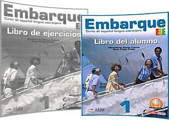 Испанский язык / Embarque / Libro+de ejercicios. Учебник+Тетрадь (комплект), 1 / Edelsa