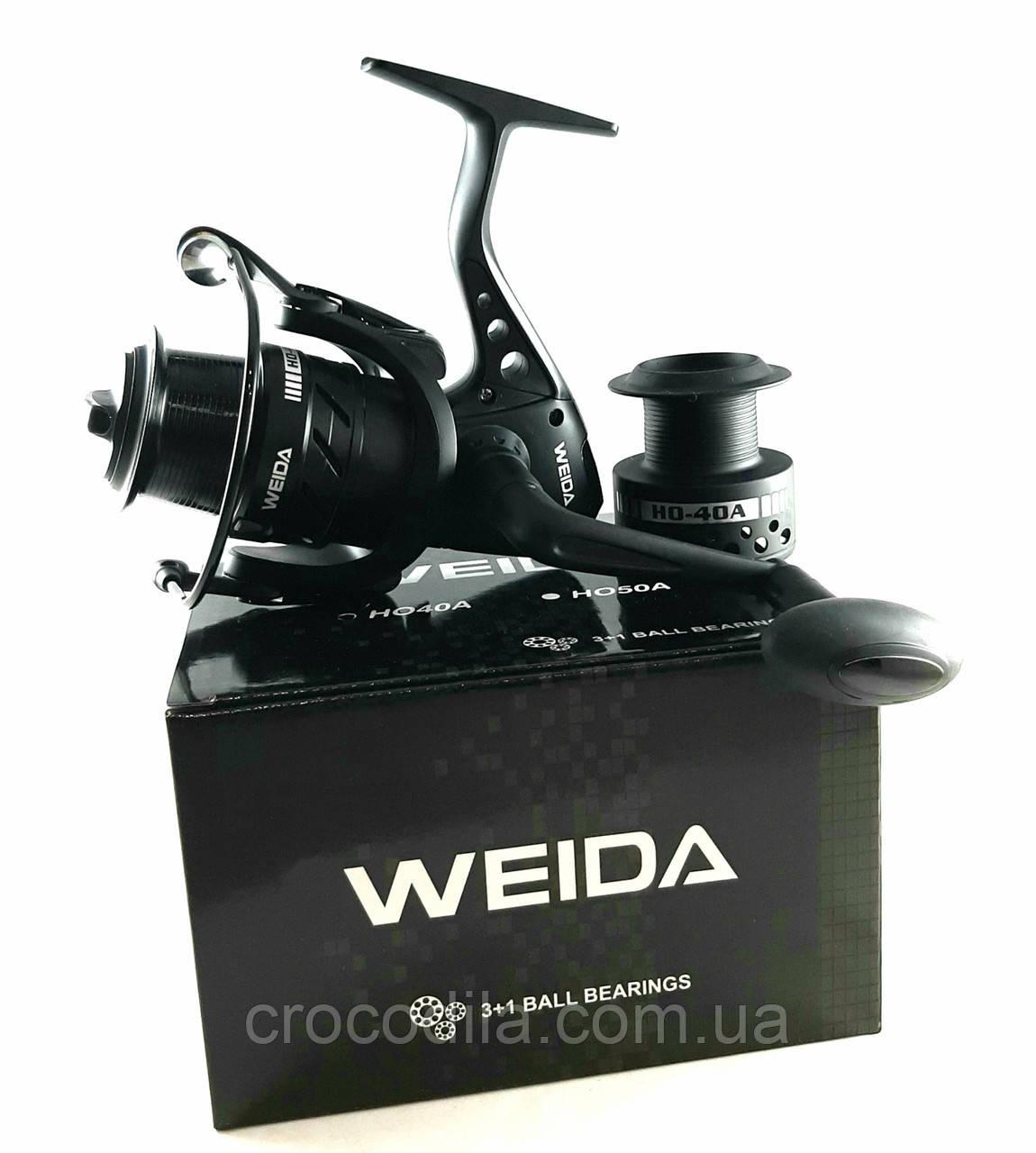 Фидерная катушка Weida ( Kaida) HO50A с конусной низкопрофильной шпулей 3+1