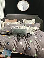 Полуторный комплект постельного белья (150 х 200) см Цветочный