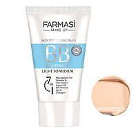 Тональный крем ВВ All in One Farmasi Beauty Balm 7 в 1 50 мл - / Far - 1104170 02 Світлий