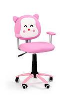 Кресло компьютерное KITTY розовый (Halmar)