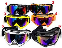 Лижна Маска , гірськолижні окуляри , захист UV400 лижные окуляри , вело , мото, фото 1
