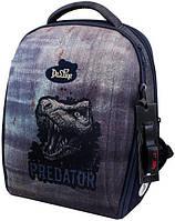 Школьный рюкзак для мальчика Delune в комплекте мешок для обуви, пенал, игрушка  7-151