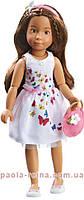 Шарнирная кукла София Kruselings в летнем праздничном платье, 23 см Kathe Kruse