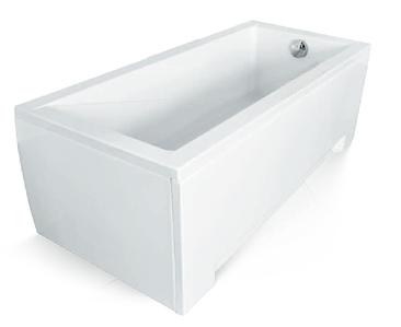Ванна 120x70 + обудова + ніжки MODERN Besco Польща