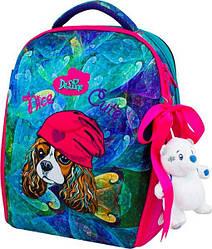 Школьный ранец для девочки Delune 7-148 (мешок для обуви, пенал, игрушка в подарок)