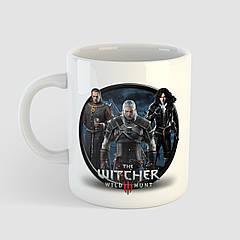 Чашка з принтом The Witcher 3 Wild Hunt. Відьмак 3 Дике Полювання. Чашка з фото