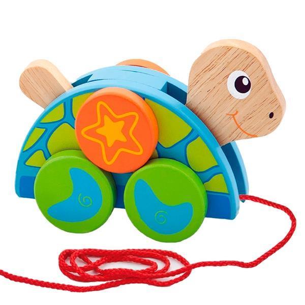 """Игрушка-каталка """"Черепаха"""" Viga Toys 50080"""