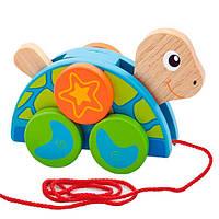 """Игрушка-каталка """"Черепаха"""" Viga Toys 50080, фото 1"""