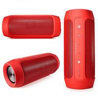 🔝 Портативная блютуз колонка, JBL Charge 2, (копия), влагозащищенная, цвет - красный   🎁%🚚