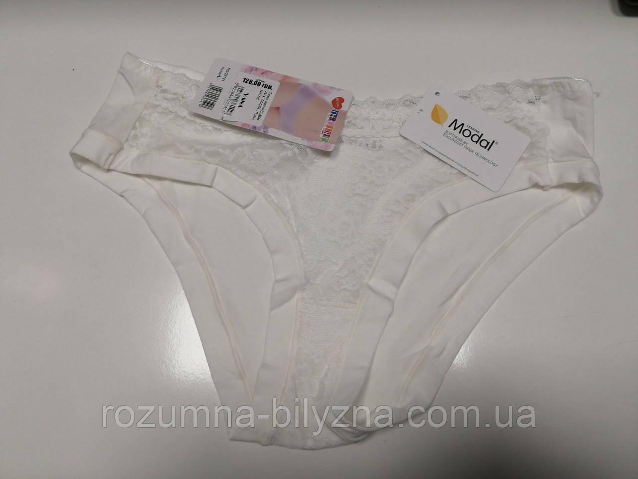 Труси жіночі сліпи, білий, Modal, TM DGGIRL, Польща