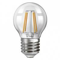 LED Лампа филаментная Neomax G45 4W E27 3000K, 4200K 400Lm 165-265V NX4F